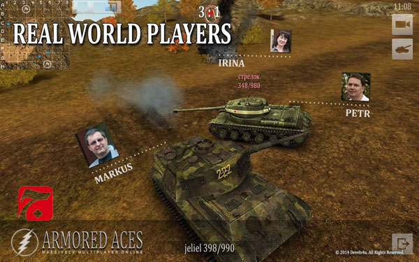 Armored Aces - 3D Tanks Online1