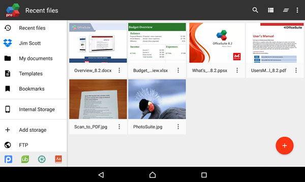 • Delivers the most exclusive features over any other office app