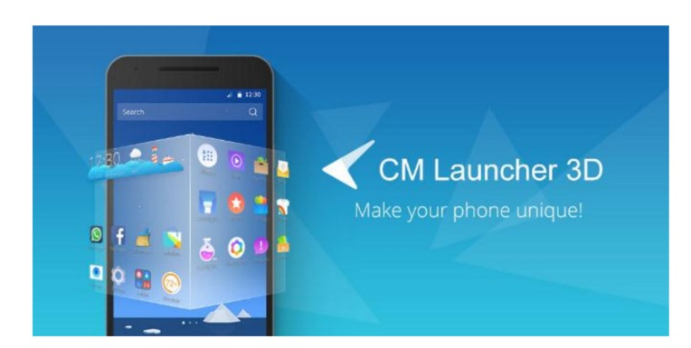 CM Launcher 3D - Stylish Boost10
