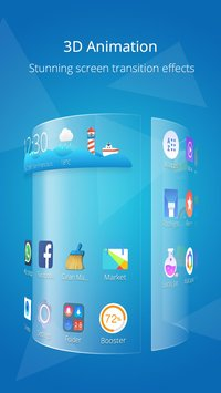 CM Launcher 3D - Stylish Boost3