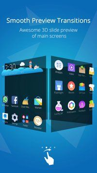 CM Launcher 3D - Stylish Boost4