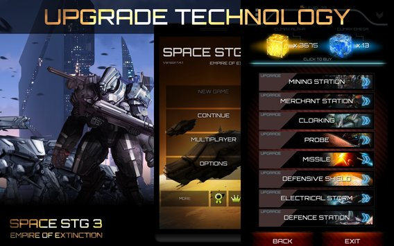 Space STG 3 - Galactic Empire5