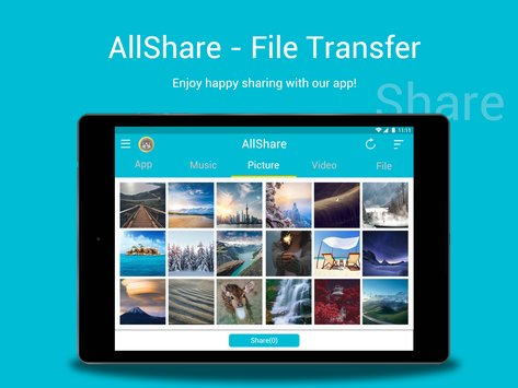 All Share - Apps&File Transfe 3