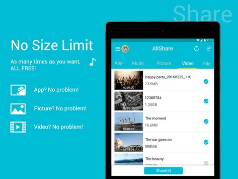 All Share - Apps&File Transfer 3