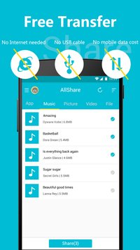 All Share - Apps&File Transfer