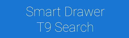 App Swap Drawer - T9 Search logo