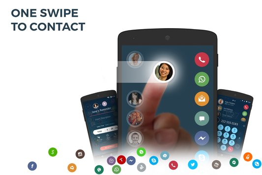Contacts & Dialer by drupe1