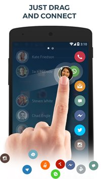Contacts & Dialer by drupe2