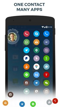 Contacts & Dialer by drupe5