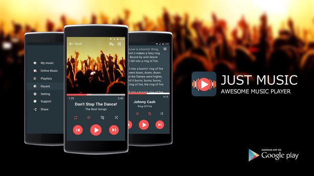 Just Music Player1