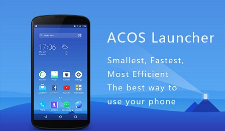 ACOS Launcher-Small,Fast,Boost logo