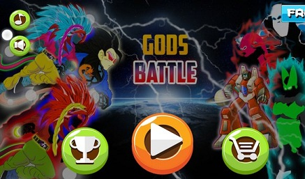 Battle for Gods Fighters logo