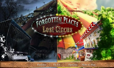 Forgotten Places - Lost Circus.1