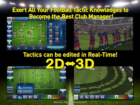 PES CLUB MANAGER..