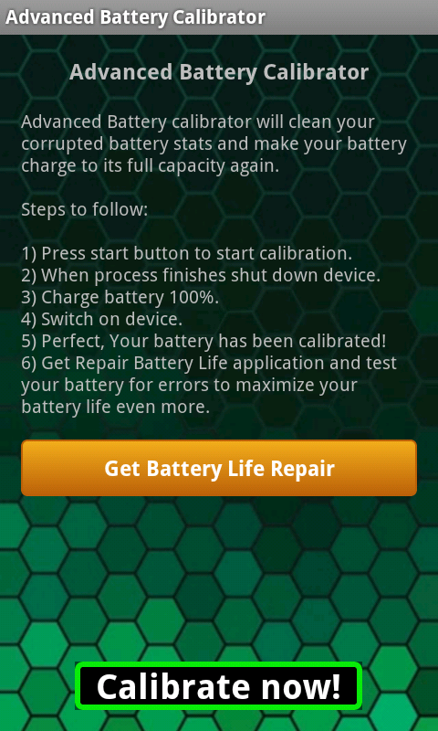 Advanced Battery Calibrator 1