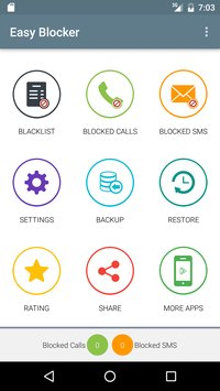 Call and SMS Easy Blocker 1