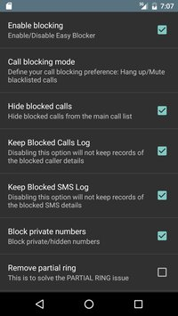 Call and SMS Easy Blocker 3
