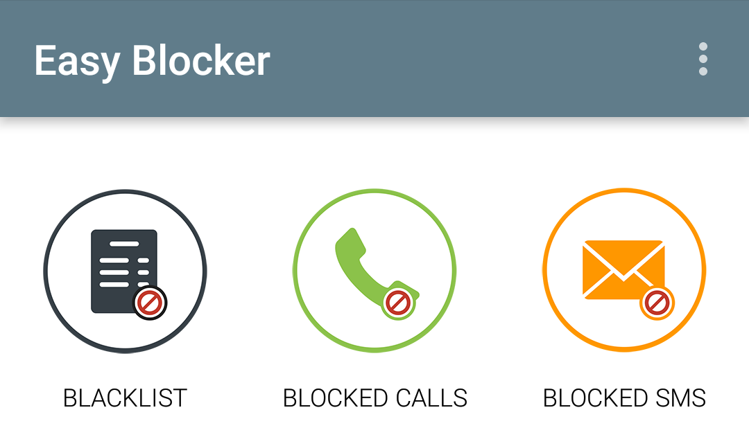 Call and SMS Easy Blocker 5.1