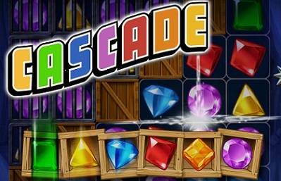 Are you ready to try the game that's making everyone finally quit crushing candies? Cascade(R) from Big Fish is available today for free on mobile devices. With 140 handcrafted puzzles to solve, Cascade combines a Match-3 game with a Slot Machine in an entirely new, patent-pending game mechanic. This combination results in a game that is both familiar and entirely unique, requiring both strategy and luck. (PRNewsFoto/Big Fish)