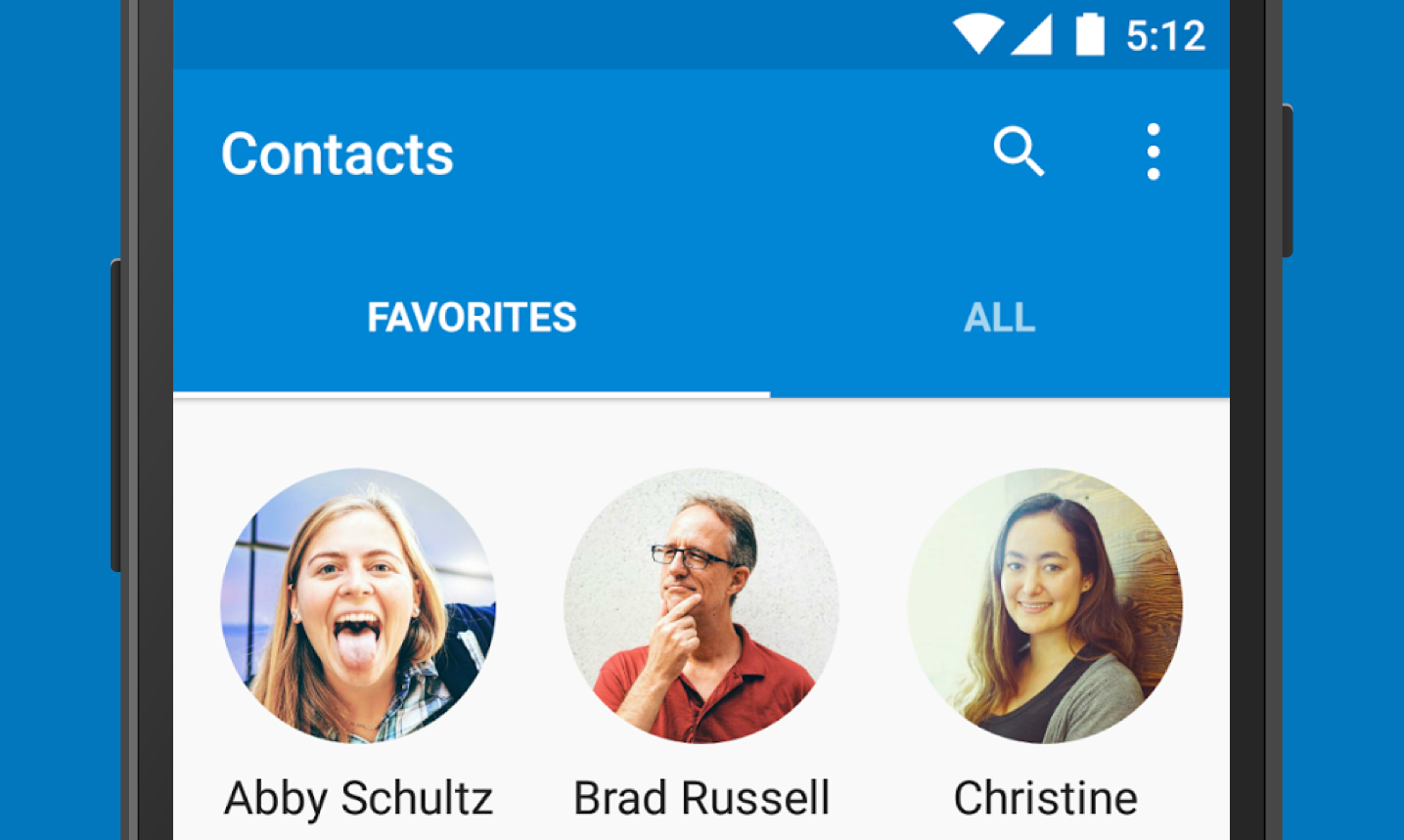 Contacts 7.1
