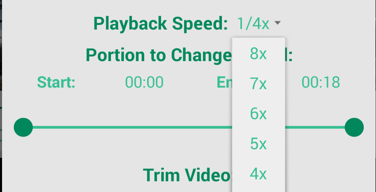 Fast & Slow Motion Video Tool 1.1