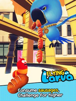 Flying LARVA 5