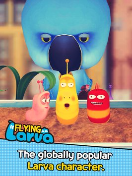 Flying LARVA 6