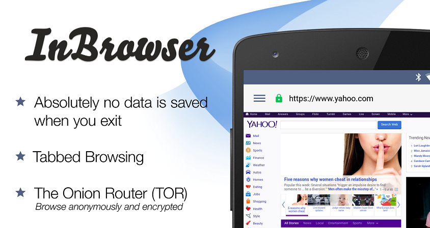 InBrowser - Incognito Browsing 1.1