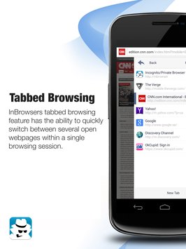 InBrowser - Incognito Browsing 4
