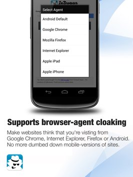 InBrowser - Incognito Browsing 7