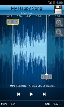 MP3 Cutter and Ringtone Maker 3