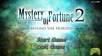 Mystery of Fortune logo