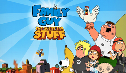 Family Guy The Quest for Stuff logo