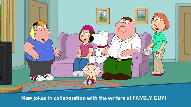 Family Guy The Quest for Stuff.
