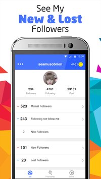 Followers track for Instagram 7