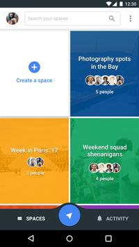 Spaces - Find & Do with Google 1