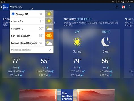 Weather - The Weather Channel 11