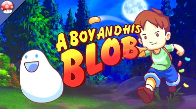 A Boy and His Blob logo