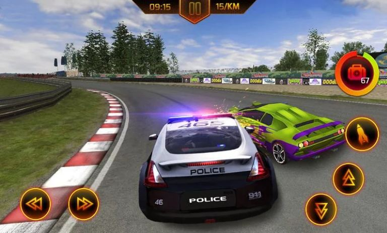 Police Car Chase 3