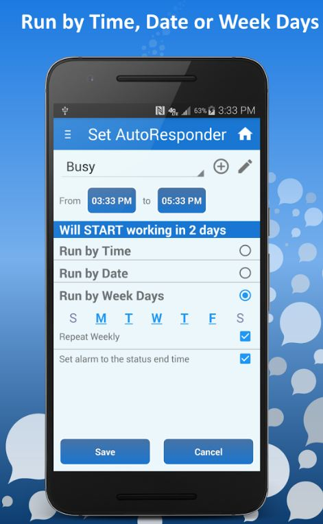 SMS Auto Reply Text PRO 3