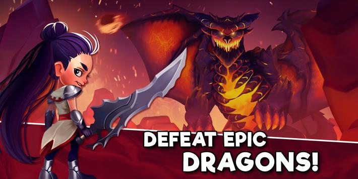 Taps & Dragons - Idle Heroes 1