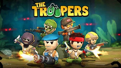 The Troopers logo