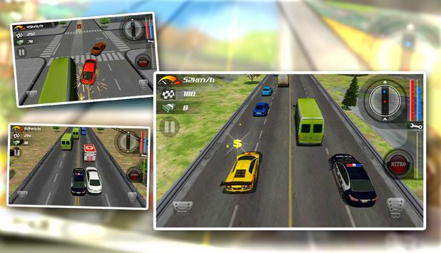 Traffic Racing Escape 2