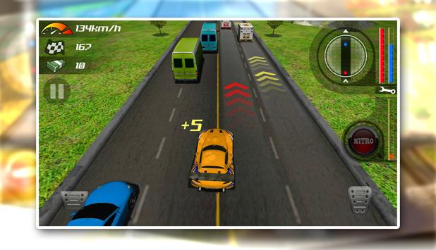 Traffic Racing Escape 5