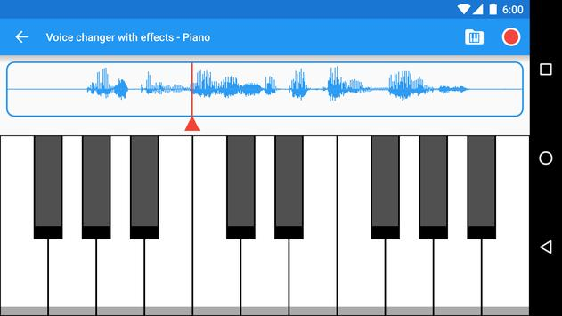Voice changer with effects6