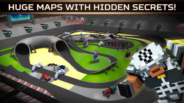 Blocky Cars Online Shooter FPS 5