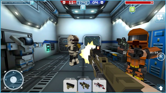 Blocky Cars Online Shooter FPS 7