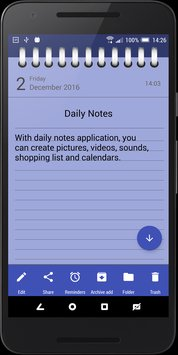 Daily Notes Notepad Notes4