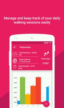 Health Pal Fitness Pedometer5