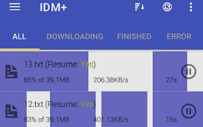 IDM Fastest download manager